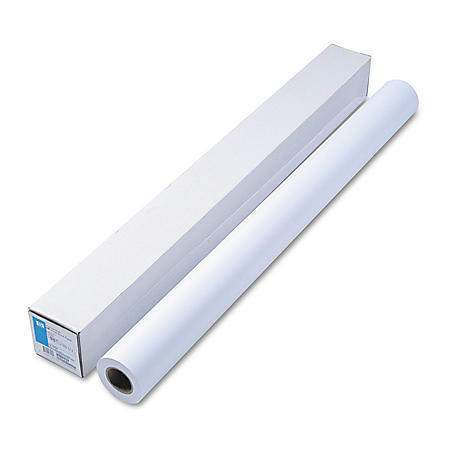"HP Designjet Large Format Universal Bond, 21 lb, 42"" x 150 ft, White"