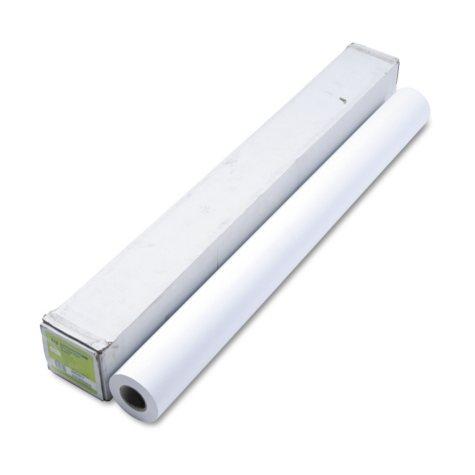 "HP Designjet Inkjet Large Format Paper, 4.9 mil, 42"" x 150 ft,  White"