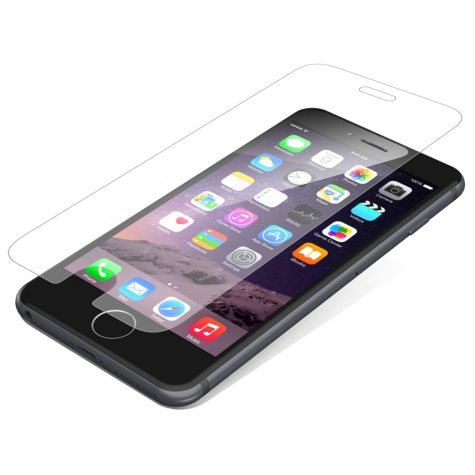 ZAGG InvisibleShield Glass Screen Protection for Apple iPhone 6 Plus, iPhone 6s Plus