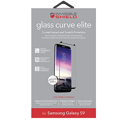 ZAGG InvisibileShield Samsung Galaxy Curved Glass + Screen Protection (Choose Size)