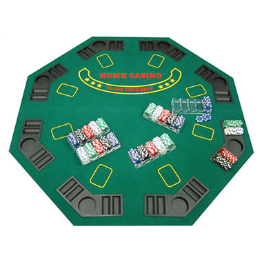 Poker table top and chips sam 39 s club for 10 person poker table top