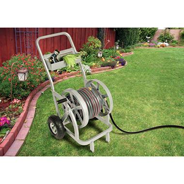 garden hose caddy. Estate Hose Reel Cart Garden Caddy