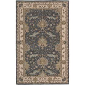 Nourison Worcester Wool Rug Blue Orted Sizes