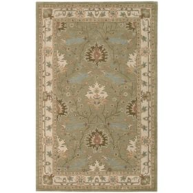 Nourison Worcester Wool Rug Sage Orted Sizes