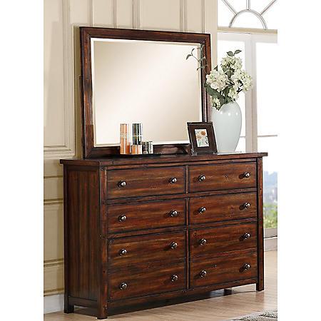 Danner Dresser and Mirror