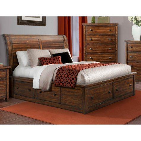Danner Storage Bed (Choose Size)