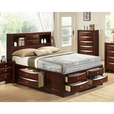Madison Storage Platform Bed (Assorted Sizes)