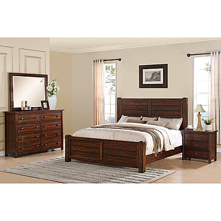 Danner Bedroom Set (Choose Size)