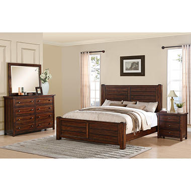 Danner Bedroom Set (Choose Size) - Sam\'s Club