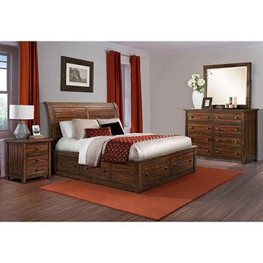 Danner Storage Bed Bedroom Set (Choose Size) - Sam\'s Club