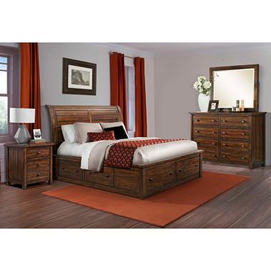 Danner Storage Bed Bedroom Set (Choose Size) - Sam\'s Club