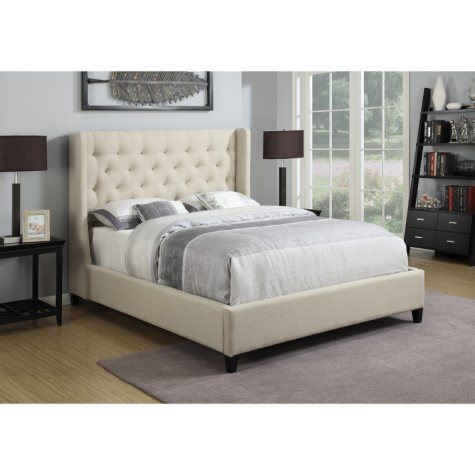 Cadence Upholstered Bed (Choose Size)