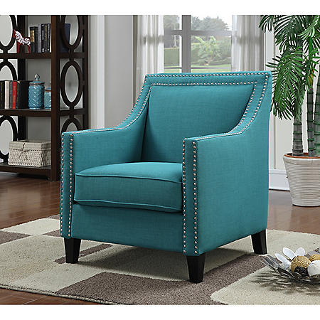 Emery Upholstered Chair (Assorted Colors)