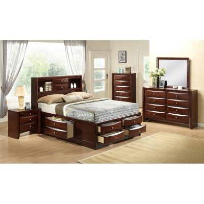Madison Bed with Storage Drawers Bedroom Set Assorted Sizes