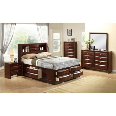 Madison Storage Platform Bedroom Set (Assorted Sizes)