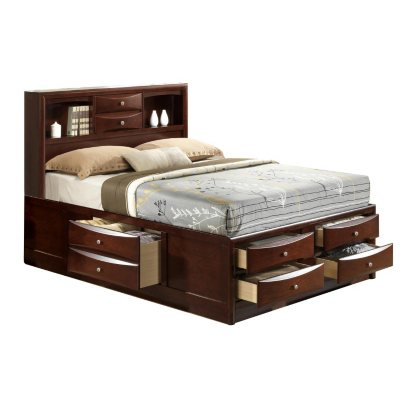 3-Pc. Madison Bed with Storage Drawers Bedroom Set (Assorted Sizes)
