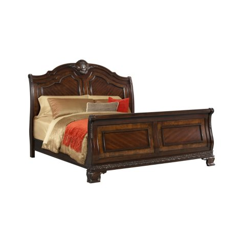 Victoria Sleigh Bed (Assorted Sizes)