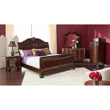 Victoria Bedroom Furniture Set (Assorted Sizes) - Sam\'s Club