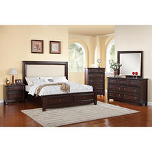 Best Er Harland Bed With Upholstered Headboard Bedroom Set Choose Size