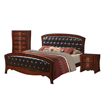 Jansen Bedroom Furniture Set (Choose Size)