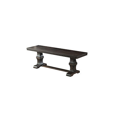 Steele Wooden Bench