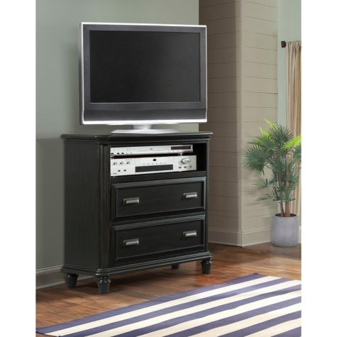 Mysteria Bay Media Chest, Black