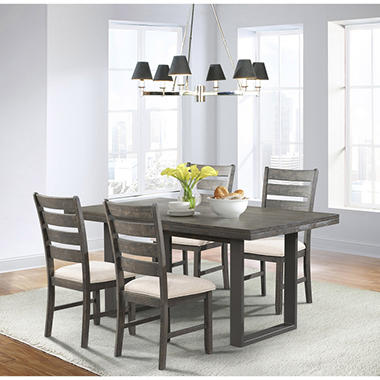 Sullivan Dining Table and Side Chairs, 5-Piece Set