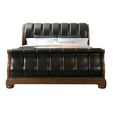 Pentos Sleigh Bed (Assorted Sizes)