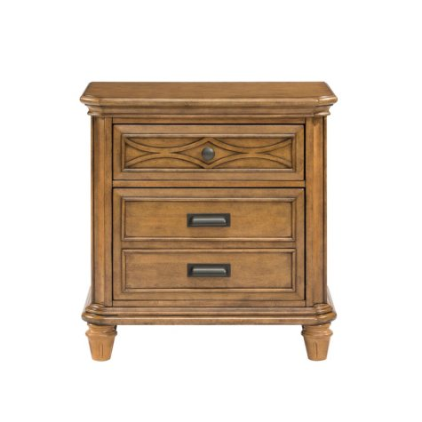 Mysteria Bay Nightstand, Honey