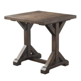 Flynn Trestle End Table