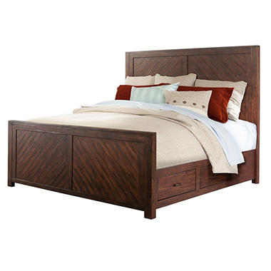 Dex Platform Storage Bed (Assorted Sizes)