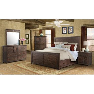 Dex Platform Storage Bedroom Furniture Set (Assorted Sizes) - Sam\'s Club