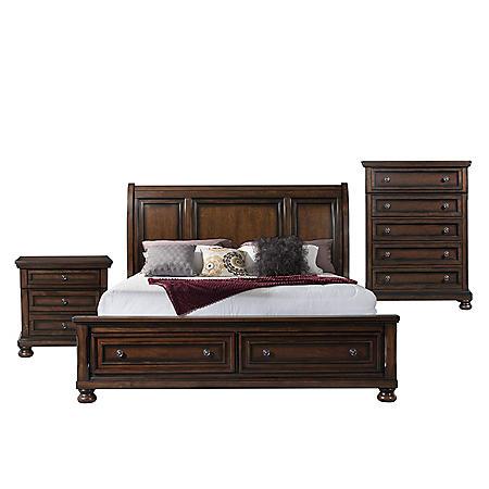Kingsley Storage Bedroom Furniture Set (Assorted Sizes)