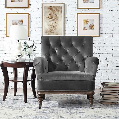 Riveria Accent Chair - Slate