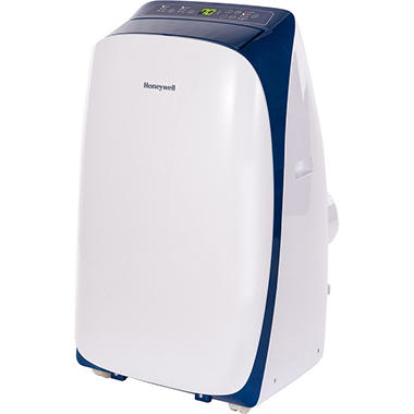 Honeywell Series 10,000 BTU Portable Air Conditioner with Remote Control - White/Blue