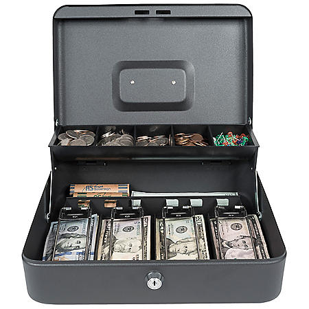 Royal Sovereign Tiered Tray Cash Box RSCB-400-ADBK