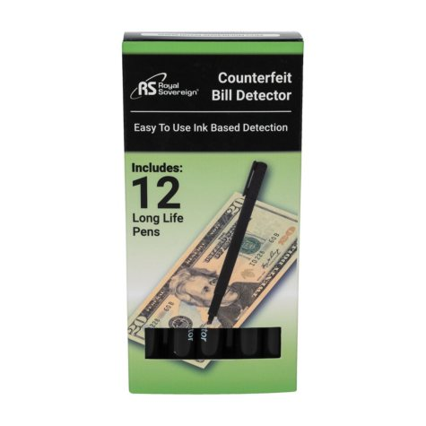 Royal Sovereign Counterfeit Protection Pens (12 pk.)