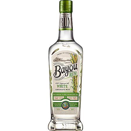 Bayou White Rum (750 ml)