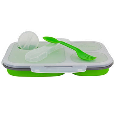 Collapsible Silicone Meal Kit