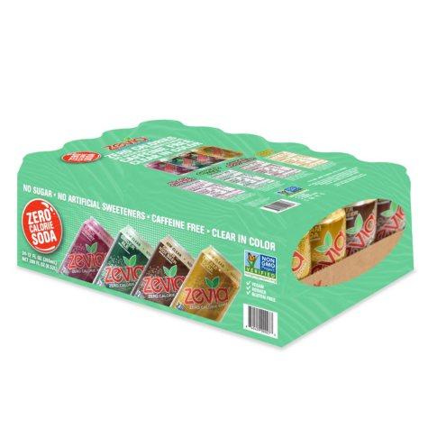 Zevia Zero Calorie Soda Variety (12 oz. cans, 24 pk.)