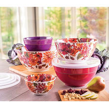 Melamine 10-Piece Mixing Bowl Set (Assorted Colors)