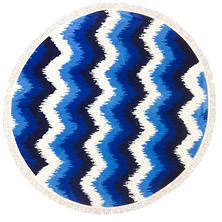 Round Beach Towel (Assorted Colors)