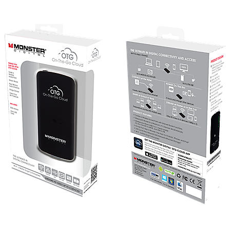 Monster Digital On-The-Go Cloud w/ 8GB SD Card