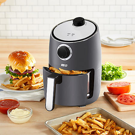 Dash 2-Quart Compact Air Fryer with Nonstick Cooking Basket and 30 Minute Timer (Assorted Colors)