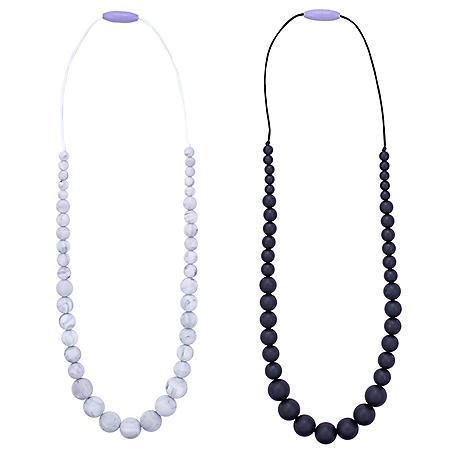 Anjie + Ash Mona Teething Necklace Set