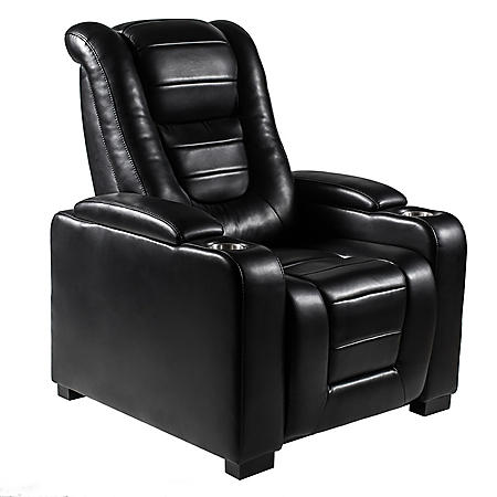 Myles Power Theater Recliner with Adjustable Headrest, Assorted Colors