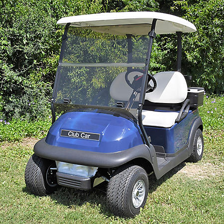 King B Club Car Precedent Hinged Golf Car Windshield