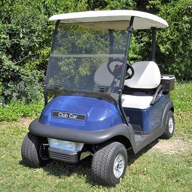 King B Club Car Precedent Hinged Golf Car Windshield - Sam's Club Concenssions Food Golf Cart on