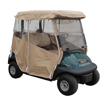 King B Club Car Precedent Golf Car Over the Top Weather Enclosure
