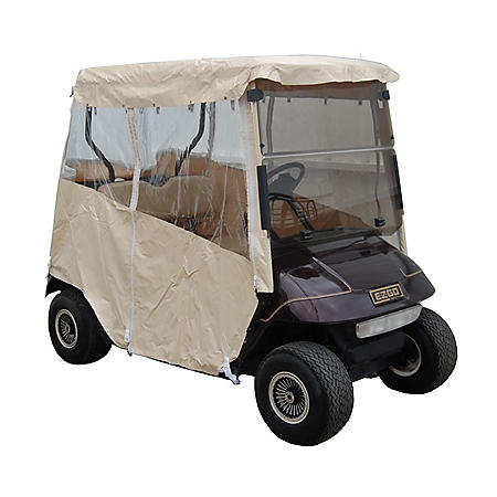 EZGO TXT Golf Car Over the Top Weather Enclosure